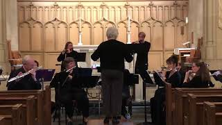 He is Born  for flute choir arr. Kelly Via   performed by The Lancaster County Flute Ensemble