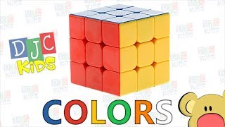 Rubik's Cube Colors for Babies, Toddlers and Preschool!