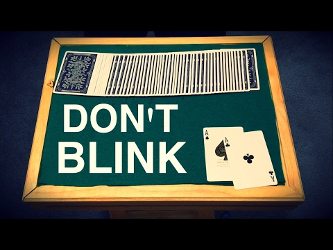 Dont Blink Mind Blowing Card Trick Revealed