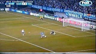 Schalke 04 vs Valencia CF UEFA Champions League 3:1 Goal