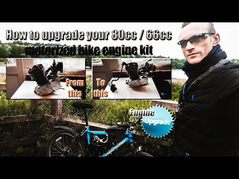 How to upgrade your 80cc motorized bike engine
