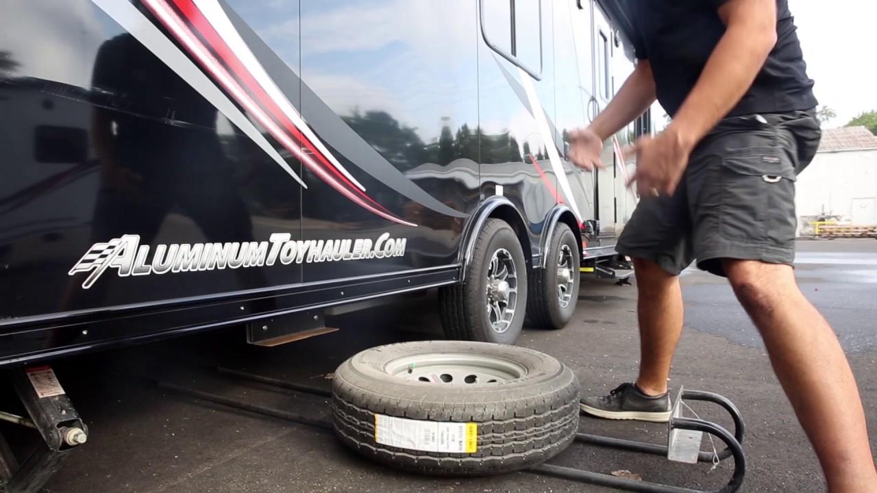 Spare Tire Atc Toy Hauler Tutorial Youtube