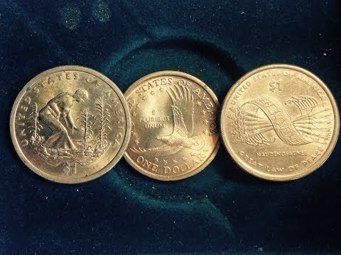 2000, 2009, 2010 Sacagawea Dollar Coins (Original And Commemorative Coins)