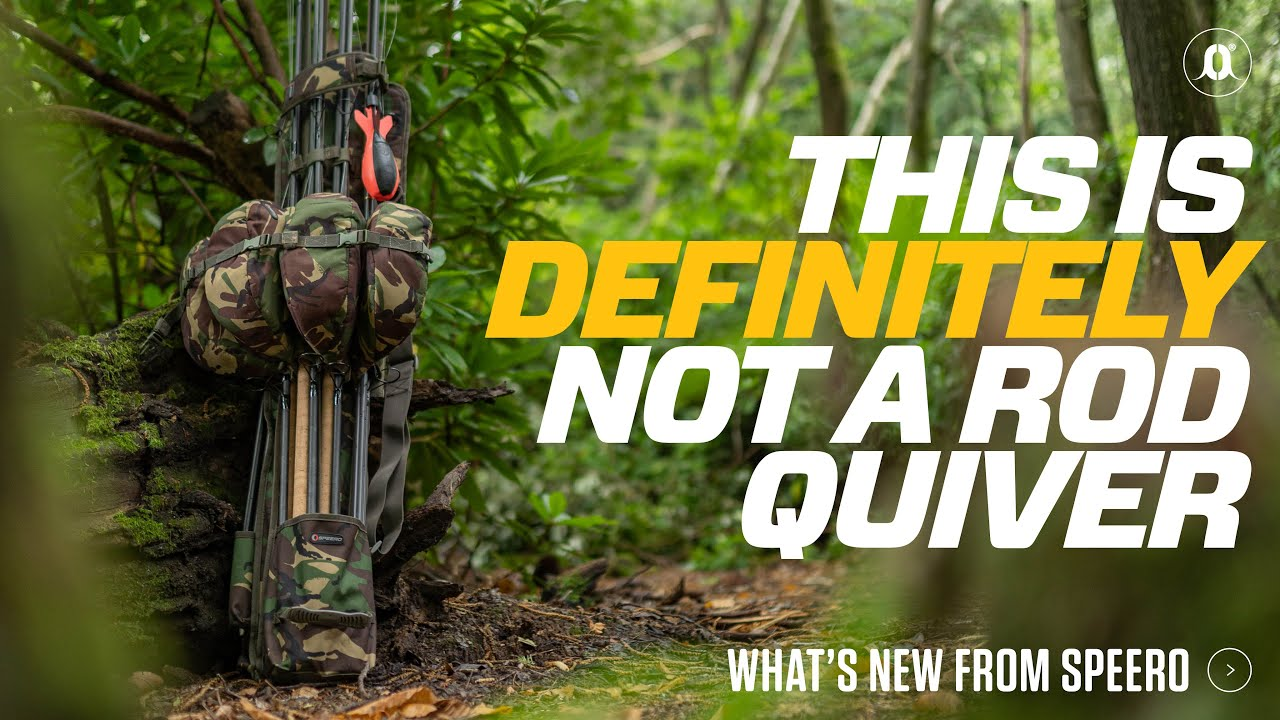 This is definitely NOT a rod quiver. NEW from Speero | Carp Fishing
