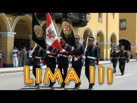 Lima, Peru travel guide, Military Parade (3/5).
