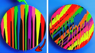 Paint Like a PRO! Cool Drawing Ideas You Can Easily Repeat || New Painting Techniques