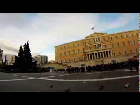 The Hellenic Parliament, Athens, Greece - Greecetimelapse.com