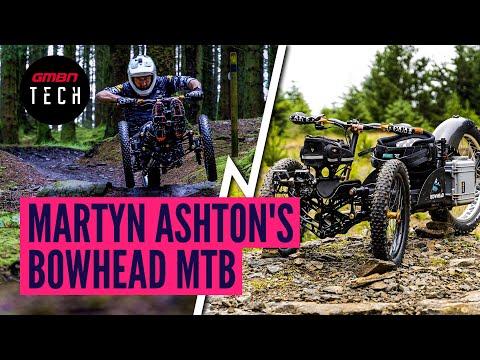 Martyn Ashton's Bowhead Adaptive Mountain Bike   GMBN Tech Pro Bike Check