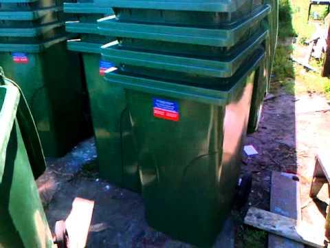 Продам контейнер 240 литров в Киеве 0445680834.mp4