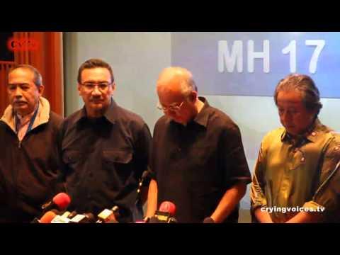 #MH17: Najib's first press conference