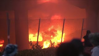 Raw video: Arson during 'No Justice, No Peace' protests in downtown Miami