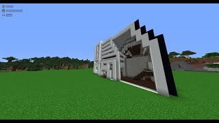 Minecraft: How to Build A Modern House #1