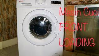 Tutorial Cara Operasikan Mesin Cuci Sharp Front Loading Simple Dan Easy