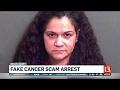 Fake cancer scam arrest