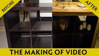 Ikea Hack Diy Furniture Customizing Reclaimed Wood Video