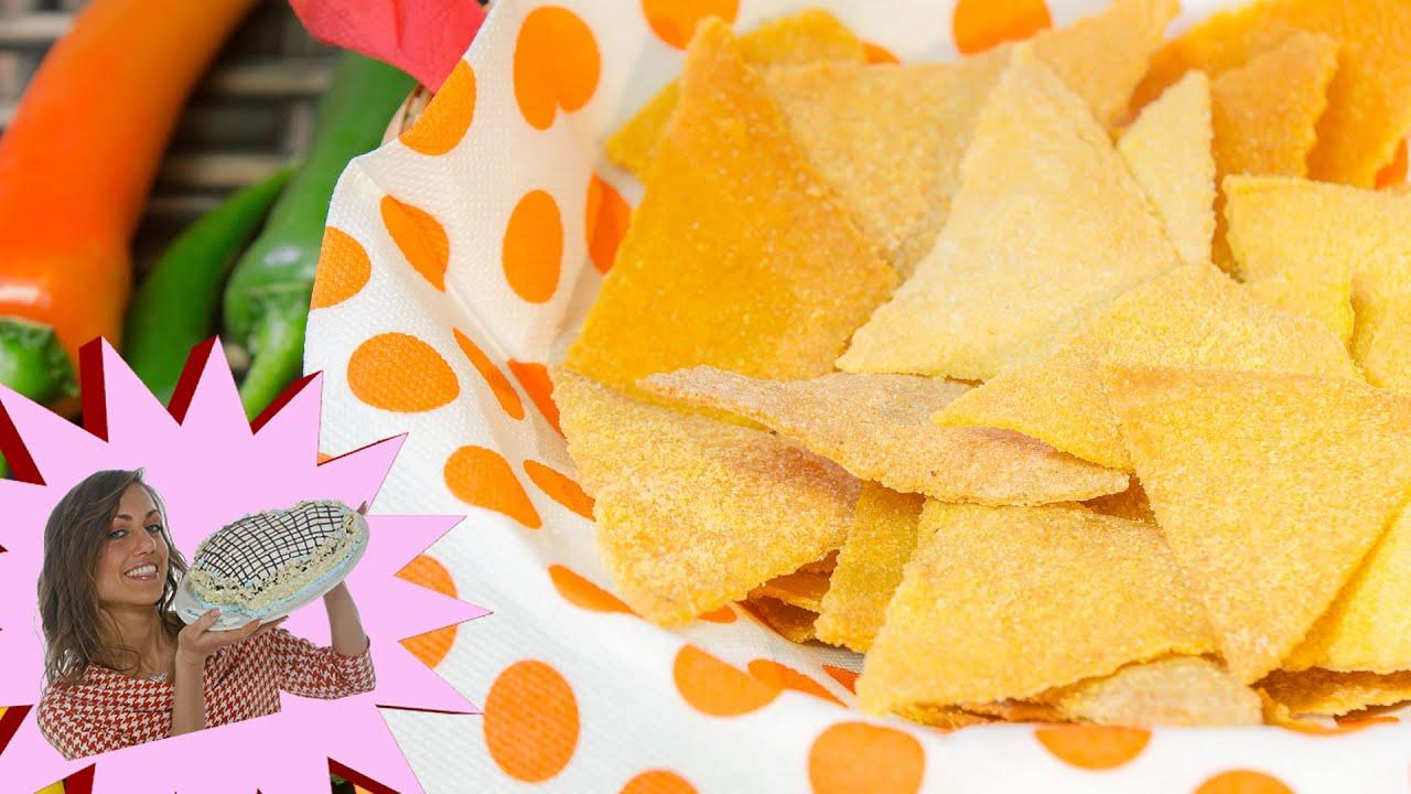 Ricetta Nachos Senza Glutine.Nachos Fatti In Casa Leggeri Al Forno Youtube