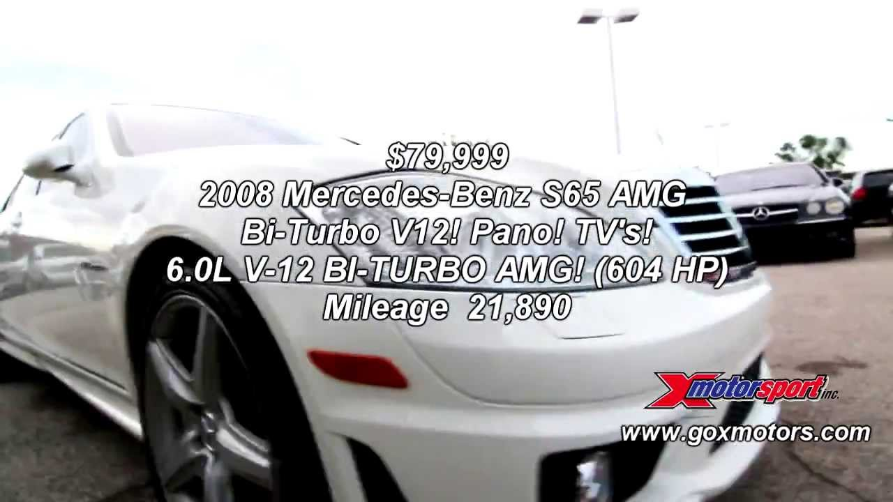 2008 mercedes benz s65 amg bi turbo v12 79 999 youtube. Black Bedroom Furniture Sets. Home Design Ideas