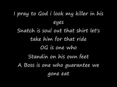 Meek Mill ft Rick Ross - I'm a Boss - Lyrics