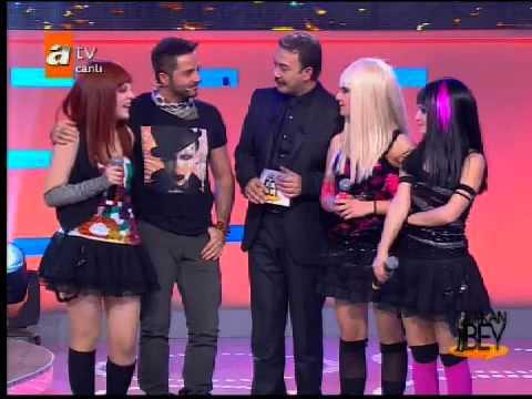 JanJan kızlar ve Gökhan Özen ATV'de
