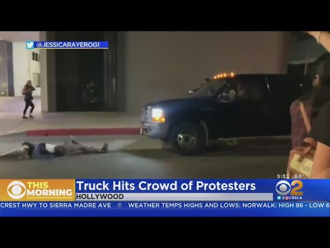 Protester Hit By Truck During Hollywood Demonstration To Protest Death Of Breonna Taylor