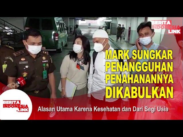Mark Sungkar Resmi Jadi Tahanan Kota