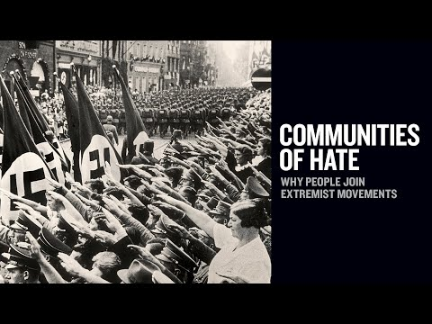 Communities of Hate  Why People Join Extremist Movements