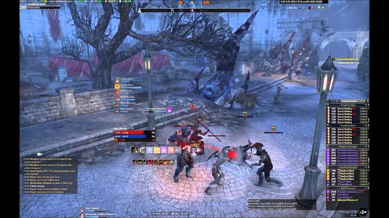 Elder Scrolls Online Best Templar Build Pve
