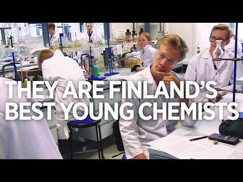 Finland's best young chemists heading to olympics IChO 2018