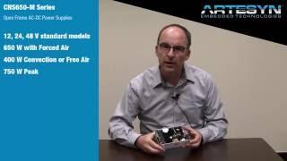 CNS650-M Series AC-DC Medical Power Supplies
