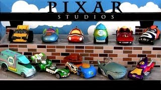 11 Cars Pixar Studios Racers Finding Nemo, Wall-E, Sulley, Woody, Buzz, Incredibles Diecast toys