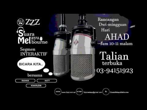 3zzz (Malaysian Broadcasting Group) Suara Melayu Melbourne 18/06/2017