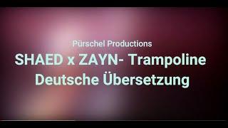 SHAED & ZAYN - Trampoline (Deutsche Übersetzung)