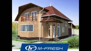Проект дома со встроенным гаражом M-fresh Frankfurt (Жилой дом с мансардой)(, 2016-11-27T07:38:14.000Z)