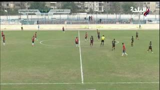 أحمد حسني يحرز الهدف الأول لسيراميكا كليوباترا فى شباك النصر