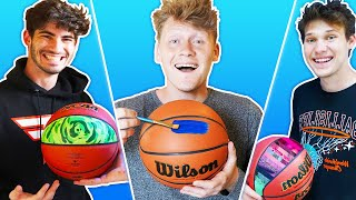 Customizing Basketballs For Everyone in the 2Hype House!