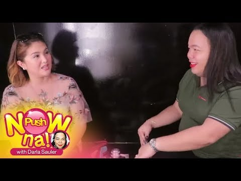 Push Now Na: Dimples Romana Shows What's Inside Her 'heavy' Bag
