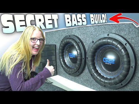 SURPRISE Car Audio Install W/ My Girlfriend's NEW RIDE!!! How To Build Ported A 10