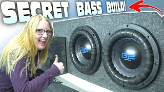 "SURPRISE Car Audio Install w/ My Girlfriend's NEW RIDE!!! How To Build Ported a 10"" G2 Subwoofer Box"
