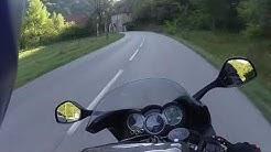 Bonne promenade de Hauteville Lompnes à Villars les Dombes (01). J'adore cette route !