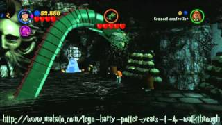 LEGO Harry Potter Walkthrough - Year Two: The Basilisk Part 2