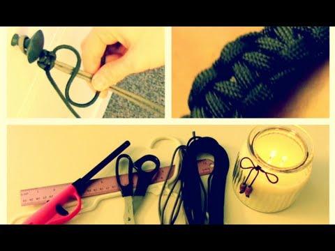 DIY: Paracord Bracelet (Valentine's Day Gift for Him!) | Blair Fowler