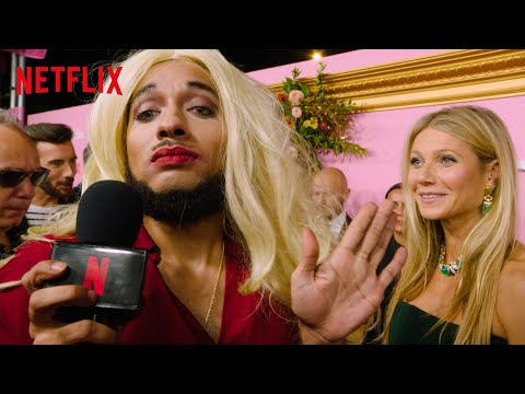 Joanne the Scammer Meets Gwyneth Paltrow at The Politician Premiere | Netflix