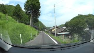 岡山県道46号和気笹目作東線-2、岡山国際サーキットからR179 車載動画