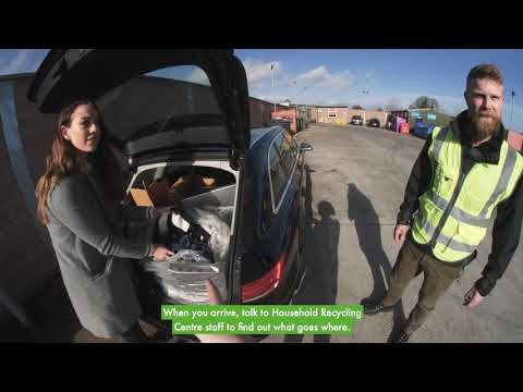 How To Use Your Household Recycling Centre