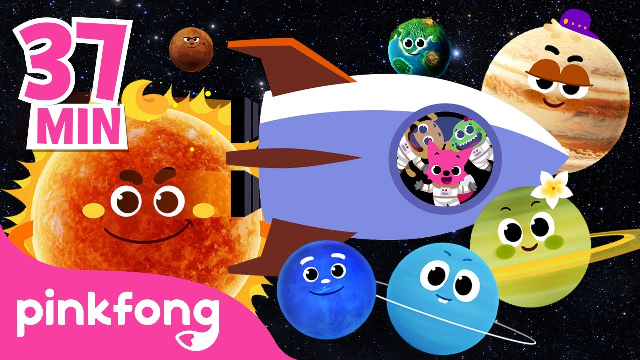 Eight Planets and more | Best Space Songs | Planet Songs | MIX | Pinkfong Songs for Children