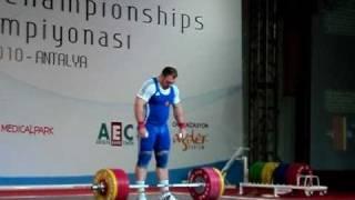 Evgeny Chigishev -  Snatch 210 Kg @ 133.96 BW
