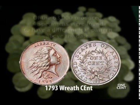 The Coin Show - Coin History: Half Cent to 3 Cents