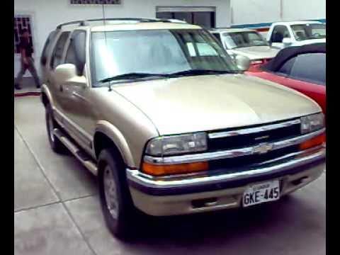 Autos Usados En Venta >> AUTOS USADOS ECUADOR(Venta todoterreno Chevrolet BLAZER 4X4) - YouTube