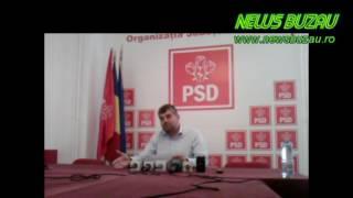 NEWS BUZAU -  Acuze Marcel Ciolacu   PSD   Ovidiu Anghel PNL -  30 05 2016