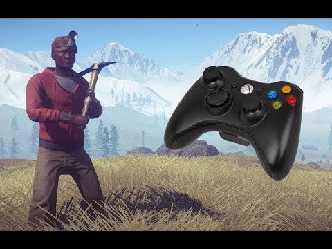 PLAY RUST WITH XBOX 630 WIRED REMOTE - 2017 TUTORIAL USING GLOVEPIE